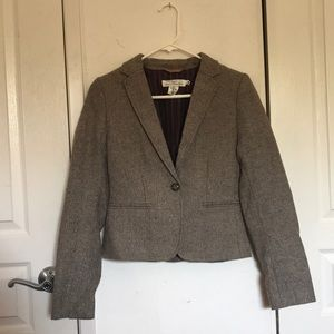 H&M L.O.G.G. Light Brown Blazer (NWOT)